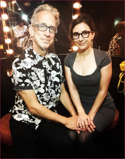 Andy Dick and Dixie Perkinson
